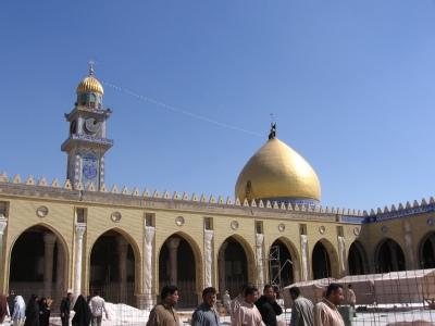 آرامگاه مسلم در کنار مسجد کوفه